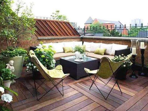 成都别墅庭院绿化设计施工